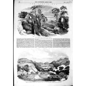 1852 KAFFIR WAR GOLA RIVER BATTLE HOTTENTOTS KONAP HILL