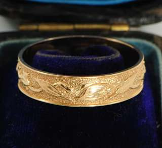 Vintage Swedish 18Ct Gold Alton Mans Wedding Ring 1968