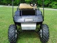 EZGO ALUMINUM DIAMOND PLATE Golf Cart SHOCK COVER EZ GO