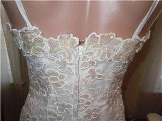 Vtg Alyce Designs Cocktail,Wedding,Prom Dress Sequin Bodice 6