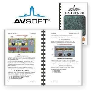 Dash8Q 300 (Quick Study Guide, De Havilland): Avsoft: Books