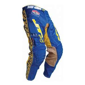 JT Racing USA Classic Mens Vented Off Road Motorcycle Pants   Blue