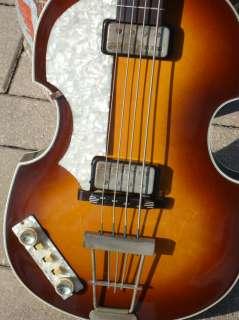 1996 HOFNER 500/1 20/40 Anniversary 62 Beatle Bass Reissue
