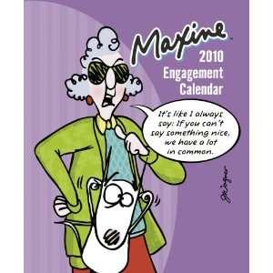 Maxine 2010 Engagement Calendar (9780768899511): DayDream