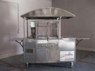 Steam Hot Dogs Cart HotDogs (15002)