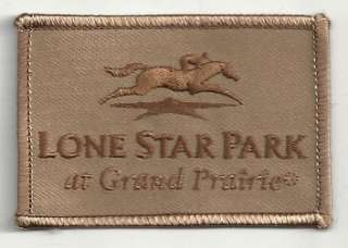 Lone Star Park Grand Prairie Texas Horse Racing patch