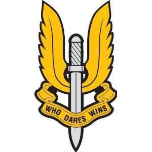 Special air service sticker vinyl decal 5 x 2.7