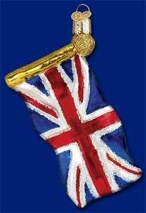 UNION JACK ENGLISH FLAG OLD WORLD UK ORNAMENT 36137