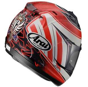 Arai Corsair V Motorcycle Racing Helmet Nicky Hayden 3 Replica Stars