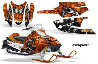 AMR RACING SLED STICKER KIT ARCTIC CAT FIRECAT SABERCAT F5 F6 F7 03 06