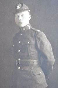 1928 Estonian Liberation Army Cavalry Officer Photo CDV