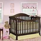 in 1 ASPEN SOLID WOOD ESPRESSO CONVERTIBLE BABY CRIB