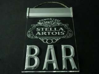 P990B LED Sign Stella Artois Beer BAR Light
