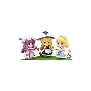 Touhou Project Set #2 Nendoroid Petite Action Figure Toys