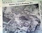 Post Magazine 1960 Roseburg Oregon Explosion Konrads