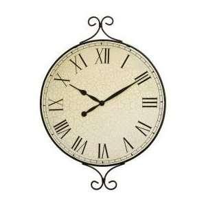 Kassel Decorative Metal Framed Wall Clock