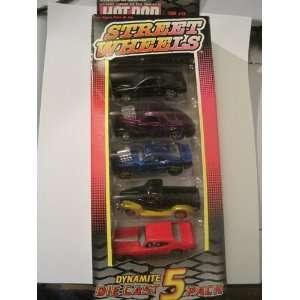 Hot Rod Magazine Issue 24   Street Wheels   Dynamite Die Cast 5 Pack