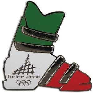 Skiing Aminco Torino Italian Ski Boot Pin Sports