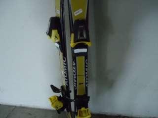 ATOMIC SL 9 Youth Kids Skis Cut Shaped Bindings 130 CM
