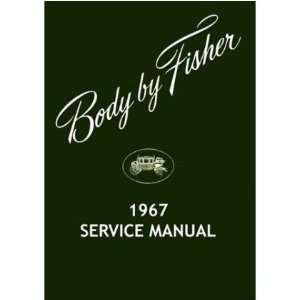BUICK CADILLAC CHEVROLET Body Service Shop Manual