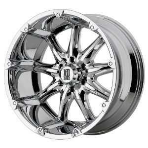20x9 KMC XD Badlands (Chrome) Wheels/Rims 5x135 (XD77929013212N)