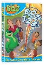 BOZ the Green Bear Next Door Thank You God 5 DVD Pack