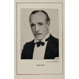 1927 Silent Film Star Lewis Stone First National Studio