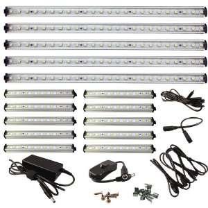 36 LED Under Cabinet Light COMPLETE KIT Cool White (6500K