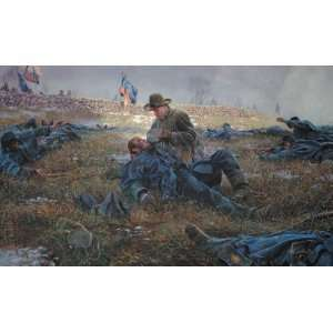 Heights   Mort Kunstler   Civil War Militay Art