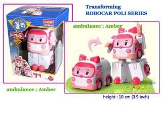 Robocar POLI series  Amber   Transforming Robot