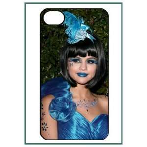 Selena Gomez Pop Star iPhone 4s iPhone4s Black Designer Hard Case