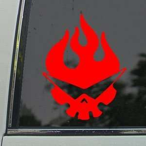 Tengen Toppa Gurren Lagann Red Decal Window Red Sticker