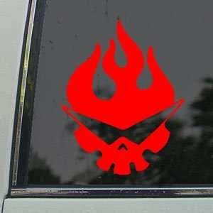Tengen Toppa Gurren Lagann Red Decal Window Red Sticker