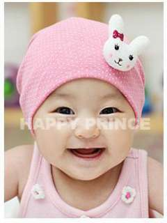 Cute Rabbit Baby Cap Crochet Point Cotton Beanie Beret Hat AT14