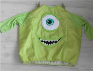DISNEY MONSTERS INC MIKE WAZOWSKI TOP 5 6 YRS HALLOWEEN COSTUME
