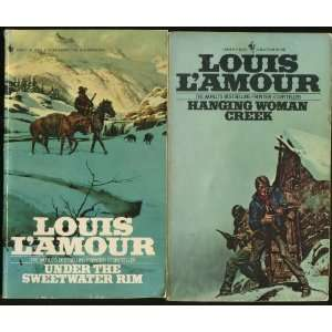 HANGING WOMAN CREEK ~ Lot of 2 Paperback Books: LOUIS LAMOUR: Books
