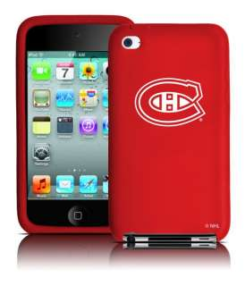 Montreal Canadiens iPod Touch 4th Gen Silicone 4 Case
