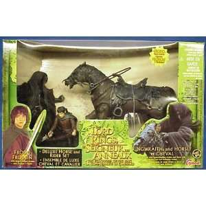Lord of the Rings Ringwraith with Horse and Frodo Action