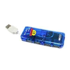 Port Mini USB HUB High Speed 480 Mbps PC Slim