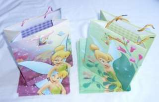 Tinkerbell Birthday Party Favor Goody Gift Loot Bag Wholesale Lot :o
