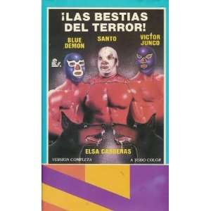 Las Bestias Del Terror! (aka Santo y Blue Demon contra las bestias del