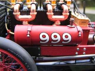 Danbury Mint   Exoto 1902 Ford 999 Barney OIdfield   Ltd. Ed.   118