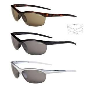 Tifosi Optics Gavia Sunglasses, Gloss Black, with Smoke w