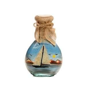 Sailing Boat Sand bottles   Glass Crafts & Sand Art