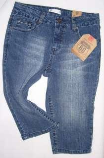 Girls Route 66 Denim Jean shorts/capris/pants (?) $19 NEW~UPicSz 12.5