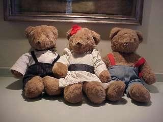 Vintage Bloomingdales Teddy Bears Ca.79 North American Bear Company
