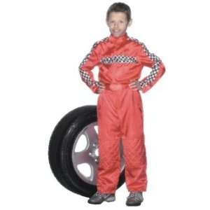 Race Car Driver Child Costume   Small (3 5 Years) Toys
