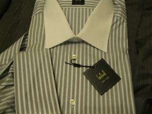 NWT IKE BEHAR SHIRT $125 TOP GRADE FR CUFF LORD TAYLOR