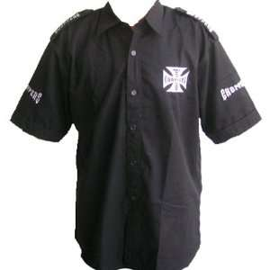 West Coast Choppers Crew Shirt Black