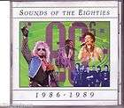 TIME LIFE Sounds of the Eighties 1986 1989 Various 1997 Oop CD 80s As
